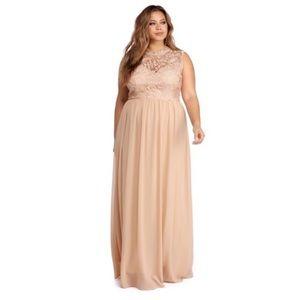 Windsor Sweetheart Chiffon Dress